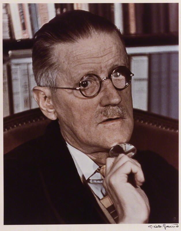 NPG P435; James Joyce by GisËle Freund