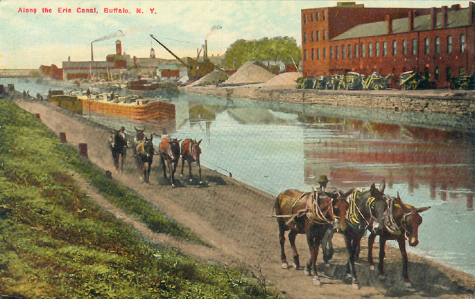 Along the Erie Canal, Buffalo, N.Y
