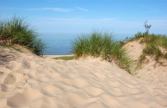Dunes, Beach, P.J. Hoffmaster State Park, MI