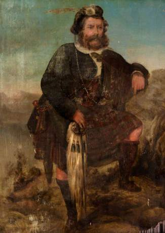 unknown artist; Rob Roy MacGregor (1671-1734)